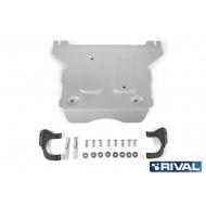 "Защита алюминиевая ""Rival"" для РК Audi A6 C8 2018-2020. Артикул: 333.0344.1"