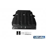 """Защита """"Rival"""" для картера (часть 1) Lexus LX 450 III 2015-2020. Артикул: 111.5713.3"""