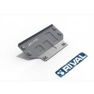 """Защита алюминиевая """"Rival"""" для картера (часть 1) Ford F150 2014-2020. Артикул: 333.1855.1.6"""