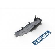 """Защита алюминиевая """"Rival"""" для топливного бака Jeep Wrangler JK 5-дв. МКПП 2007-2018. Артикул: 333.2733.1.6"""