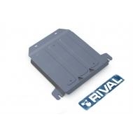 """Защита алюминиевая """"Rival"""" для РК Land Rover Defender 90/110 2007-2016. Артикул: 333.3112.1.6"""