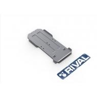 """Защита алюминиевая """"Rival"""" для КПП и РК Lexus GX 460 2009-2020. Артикул: 333.5785.1.6"""