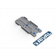 """Защита алюминиевая """"Rival"""" для КПП Lexus LX 2008-2020. Артикул: 333.9507.1.6"""