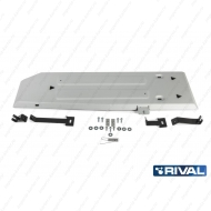"""Защита алюминиевая """"Rival"""" для топливного бака Ford Ranger 2012-2015. Артикул: 333.1845.1.6"""