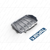 "Защита алюминиевая ""Rival"" для радиатора Ford Ranger 2012-2015. Артикул: 333.1841.1.6"