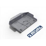 """Защита алюминиевая """"Rival"""" для картера Lexus GX 460 2009-2020. Артикул: 333.5784.1.6"""