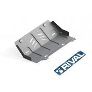 "Защита алюминиевая ""Rival"" для радиатора Fiat Fullback 2016-2020. Артикул: 333.4046.1.6"