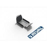 "Защита алюминиевая ""Rival"" для топливного фильтра Jeep Wrangler JK 3/5-дв. АКПП 2007-2018. Артикул: 333.2722.1.6"
