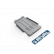 "Защита алюминиевая ""Rival"" для КПП Ford F150 2014-2020. Артикул: 333.1857.1.6"