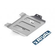 "Защита алюминиевая ""Rival"" для РК Fiat Fullback 2016-2020. Артикул: 333.4048.1.6"