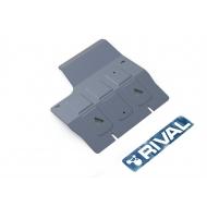 """Защита алюминиевая """"Rival"""" для КПП Land Rover Defender 90/110 2007-2016. Артикул: 333.3111.1.6"""