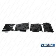 "Защита ""Rival"" для радиатора, картера, КПП и РК Fiat Fullback 2016-2020. Артикул: K111.4046.3"