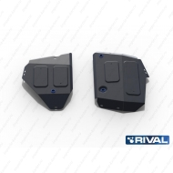 "Защита ""Rival"" для топливного бака Jeep Compass II 4WD 2018-2020. Артикул: 111.2742.1"