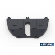"""Защита """"Rival"""" для картера и КПП Jeep Compass II 4WD 2018-2020. Артикул: 111.2743.1"""