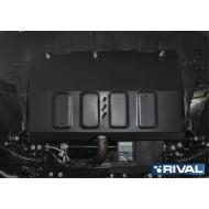 """Защита """"Rival"""" для картера и КПП Geely Emgrand X7 I 2018-2020. Артикул: 111.1918.1"""