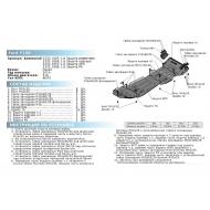 "Защита алюминиевая ""Rival"" для РК Ford F-150 XIII 2014-2018 2017-2020. Артикул: 2333.1858.1.6"