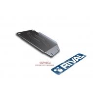 "Защита алюминиевая ""Rival"" для кислородного датчика (без крепежа) Mazda CX-5 II 2017-2020. Артикул: 3.3824.1"