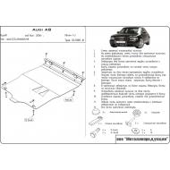 """Защита алюминиевая """"Шериф"""" для картера и КПП Audi A8 D3 2002-2010. Артикул: 02.1008"""