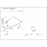"Защита алюминиевая ""Шериф"" для АКПП Maserati 3200 1998-2002. Артикул: 04.0587"