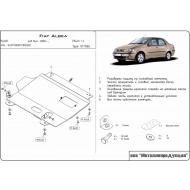 "Защита ""Шериф"" для картера и КПП Fiat Albea 2006-2012. Артикул: 07.1066"
