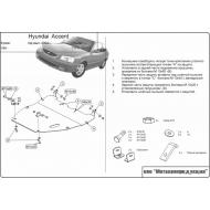 "Защита ""Шериф"" для картера и КПП Hyundai Accent (ТагАЗ) 2004-2008. Артикул: 10.0642"