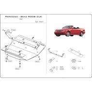 "Защита ""Шериф"" для картера Mercedes-Benz CLK-Class W208 2000-2003. Артикул: 13.0417"