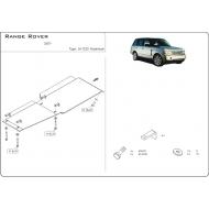 "Защита алюминиевая ""Шериф"" для КПП и РК Land Rover Range Rover Sport I Supercharged 2007-2013. Артикул: 34.1233"