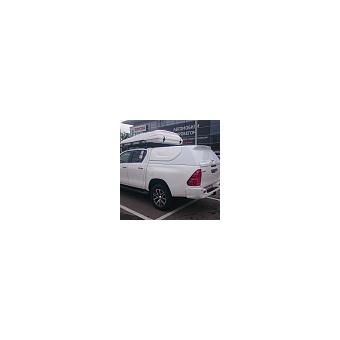 "Кунг кузова ""АВС-Дизайн"" для Toyota Hilux 2015-2020 с двойной кабиной. Под покраску, 3 двери. Артикул: ABC.TOHIL.BR.05P"