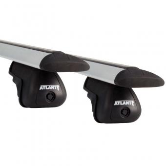 """Багажник на крышу в сборе """"Atlant"""" на интегрированные рейлинги для Mitsubishi Outlander III 2012-2020 (Аэродинамические дуги). Артикул: 7600"""