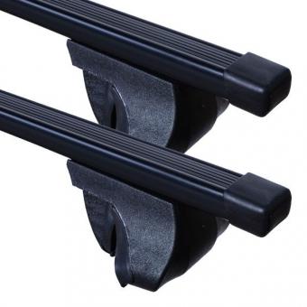 """Багажник на рейлинги """"INTER Крепыш"""" для Peugeot 206 универсал 2002-2010 (Прямоугольные дуги). Артикул: 55101002"""