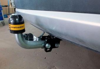 """Фаркоп """"Мотодор"""" для Peugeot Partner II (L1,L2 длина базы 4380/4680 мм) 2008-2018. Артикул: 91601-A"""